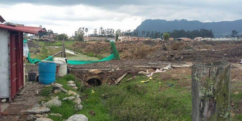 CAR suspende disposición de escombros en predio dela vereda Pasoancho del municipio de Zipaquirá