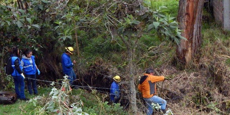 Cogua y Zipaquirá unidos por la recuperación de la quebrada El Amoladero
