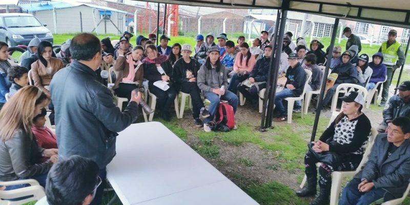 En el Primer Encuentro Departamental de Coordinadores de Juventud Zipaquirá fue protagonista