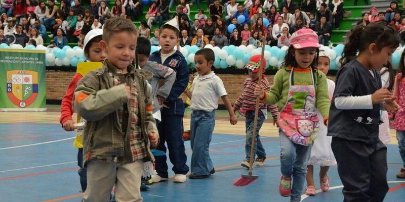 Mucha alegría y diversión en el noveno festival de Rondas Infantiles de Chía