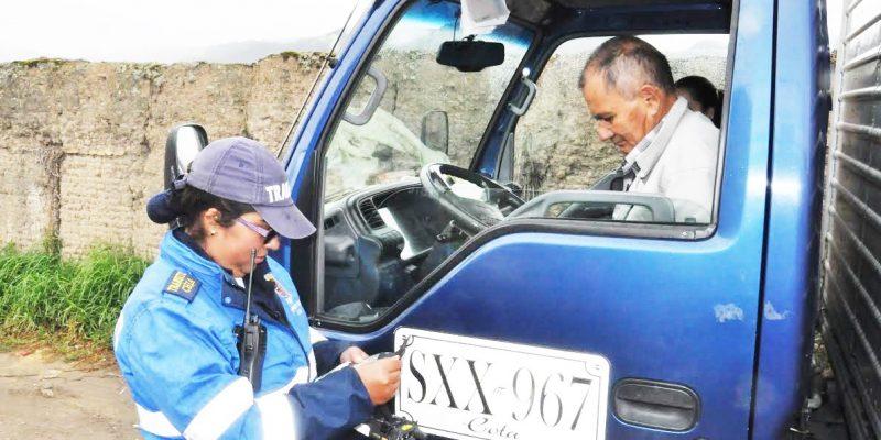 Secretaría de Movilidad de Chía continúa realizando operativos de control