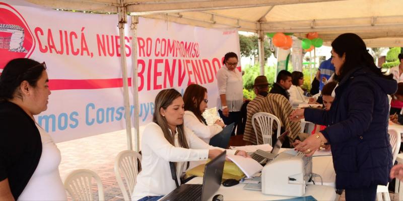 Secretaría de Salud de Cajicá continuamente adelanta jornadas de salud