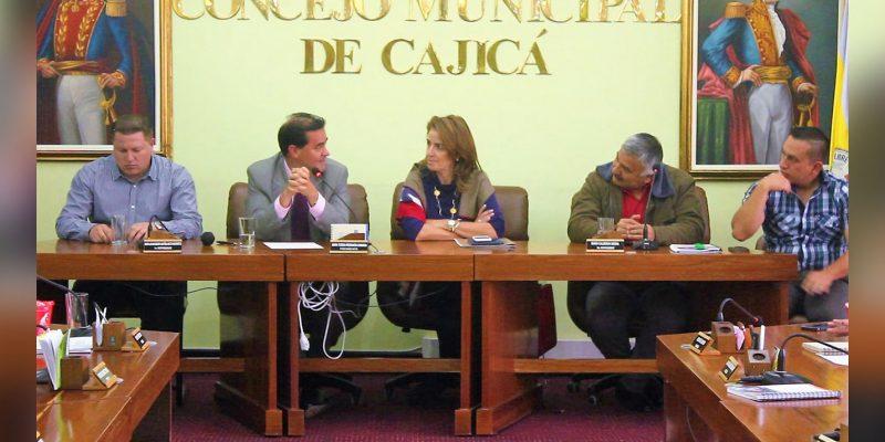 Frank Pearl negociador de diálogos de paz visitó Cajicá