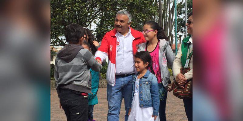 Sin precedentes se realizó en Cajicá una gran movilización contra el trabajo infantil