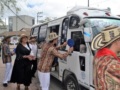 Sopó realizó Campaña La Feria del Malparqueado