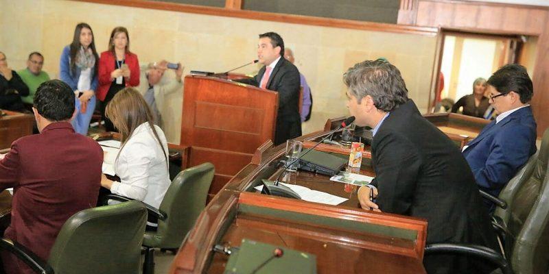 Clausuradas sesiones extraordinarias de la Asamblea de Cundinamarca