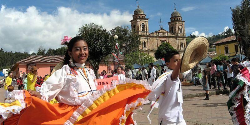 Del 2 al 4 de septiembre se realizará el XXIV Festival Concurso Nacional de Danza Andina Nemocón Sal y Cultura