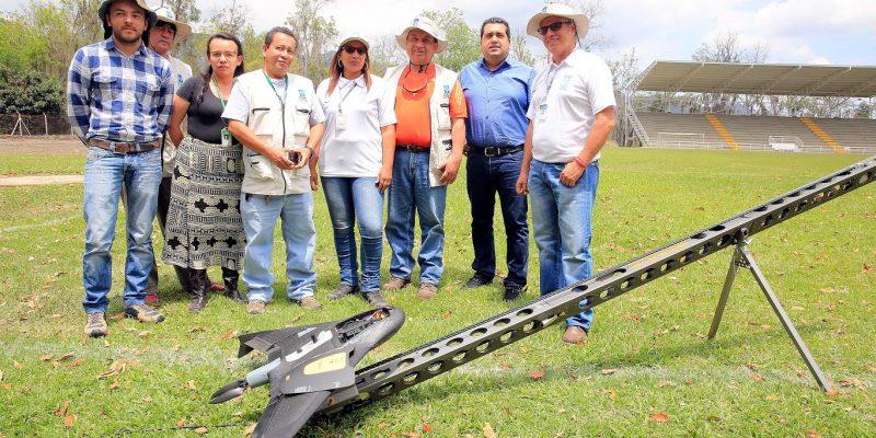 En el municipio de Pacho se implementa cartografía aérea digital