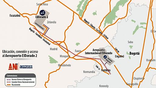 Gobierno Nacional abrió concurso para contratar consultoría que estructurará el Aeropuerto El Dorado 2