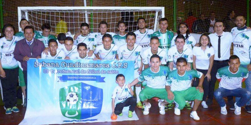 Sabana Cundinamarca gana y repunta en microfútbol profesional
