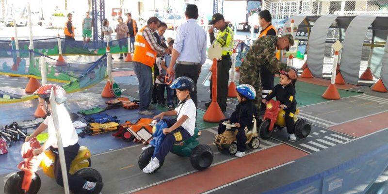 Niños de Guayabetal participaron en actividades lúdicas y de convivencia ciudadana