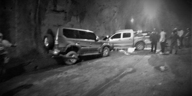 Ocho heridos en accidente de la caravana del gobernador de Cundinamarca