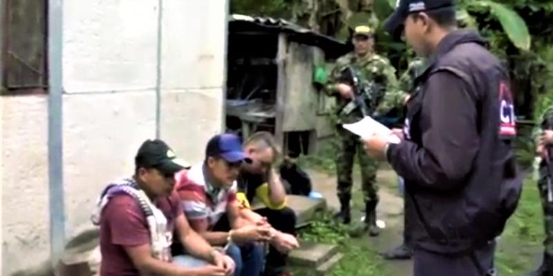 Brigada XIII capturo en las ultimas horas a tres integrantes de la banda Los Boyacos