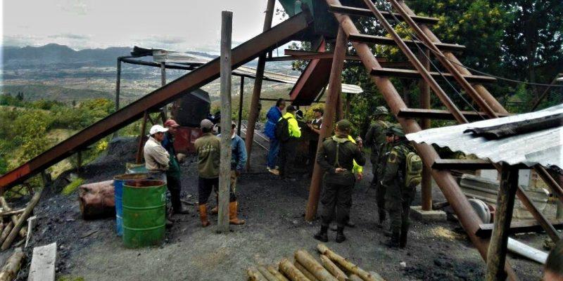 Golpe a la minería ilegal en el municipio de Suesca2