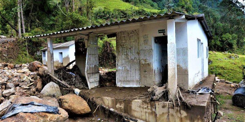 Primera temporada de lluvias en Cundinamarca ha dejado 1.386 familias afectadas