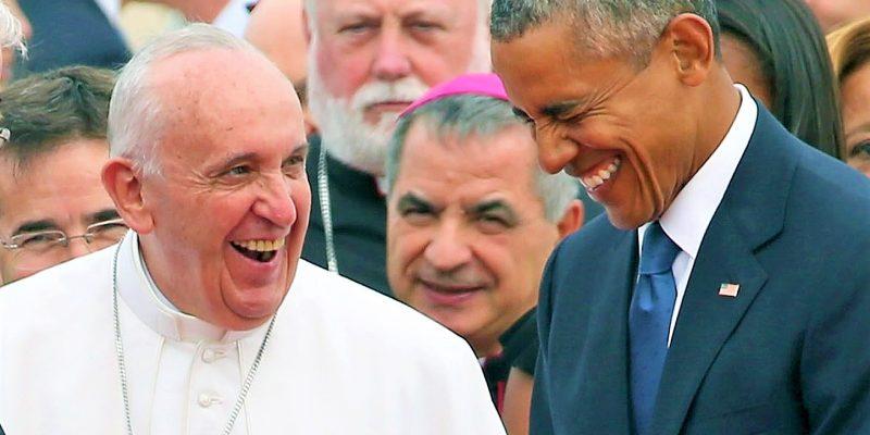 Las carcajadas del Papa Francisco