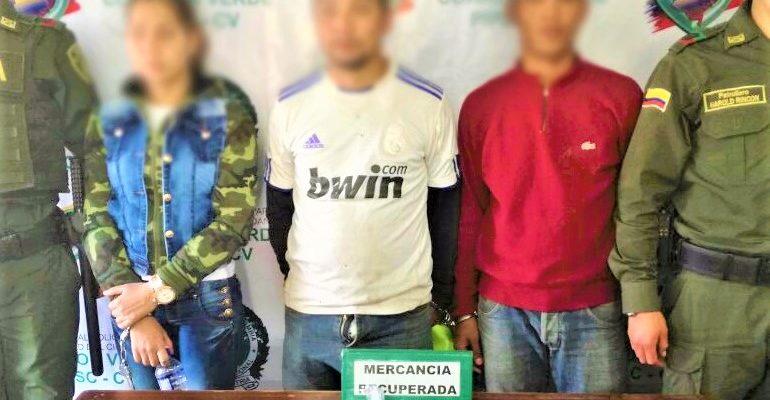 Por hurto fueron capturados tres presuntos delincuentes de procedencia venezolana
