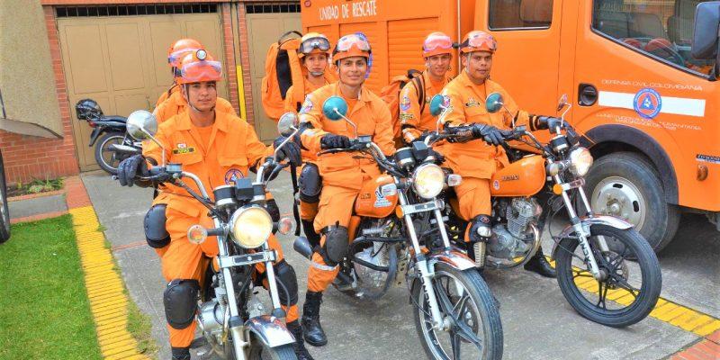 Unidad de rescate vial pone en marcha la Defensa Civil