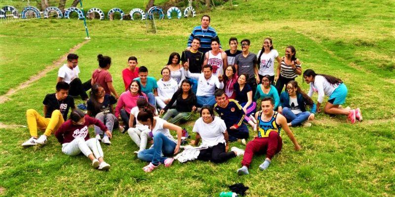 27 jovenes de Chia protagonizaron un encuentro de formacion en Villapinzon