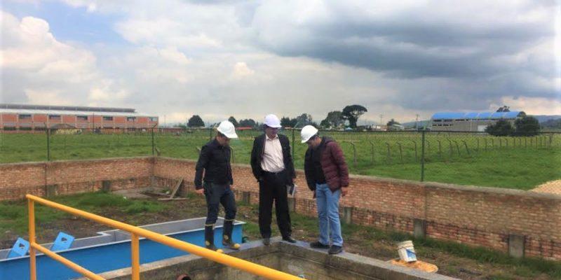 En pruebas y próxima a funcionar PETAR en la vereda La Punta sector Carure de Tenjo