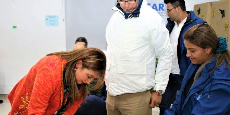 Para recuperar las lagunas de Cucunuba y Palacio mineros suscriben compromisos