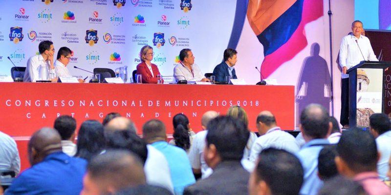 Paz y descentralización temas en la instalación del Congreso de Municipios 2018 copy