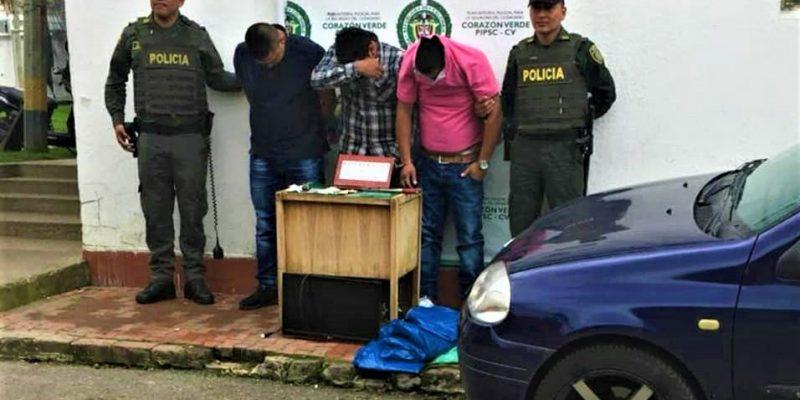Capturados tres apartamenteros en Zipaquirá1