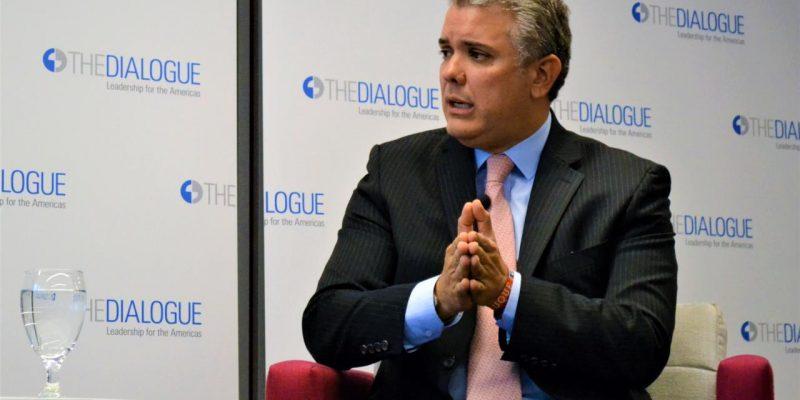 Alcaldes y con el presidente electo Ivan Duque