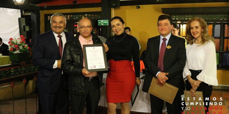 Alcaldia de Cajica realizo nueva entrega del primer nivel del sello de calidad2