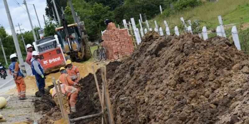 Se dio inicio a la Construccion de Alcantarillado en el Sector Juaica Zoque de Tenjo