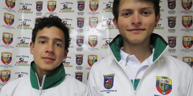 Sebastian Riano y Juan Sebastian Sanchez deportistas de Chia escalaran en Guatemala