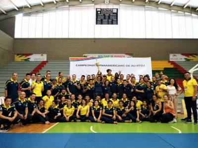 Colombia campeon por equipos del Panamericano de Jiu Jitsu