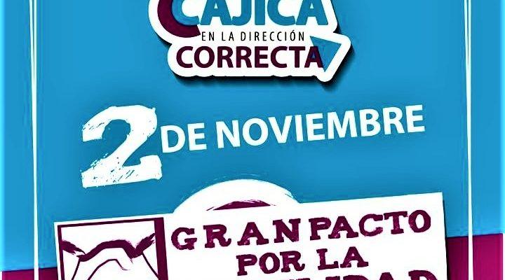 A cero vidas perdidas en la via le apunta Cajica