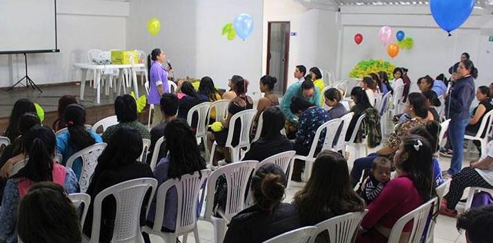 Sensibilizadas familias gestantes de Cajica sobre la importancia de la lactancia y otros cuidados