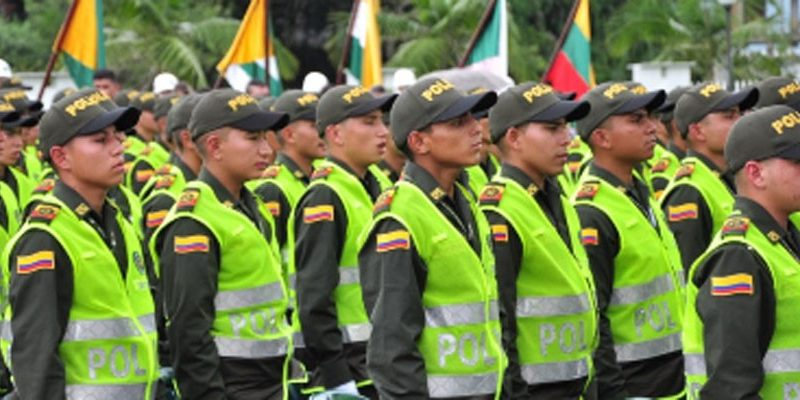 Estacion de policia de Cajica invita a los jovenes a realizar su servicio militar