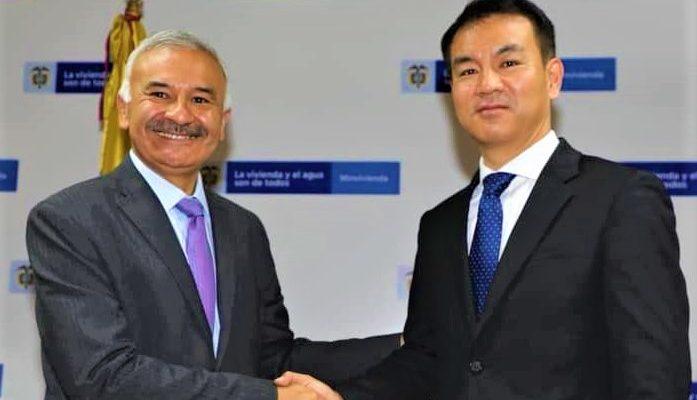 Cajica y Corea del Sur firmaron convenio para construccion de una moderna PTAR