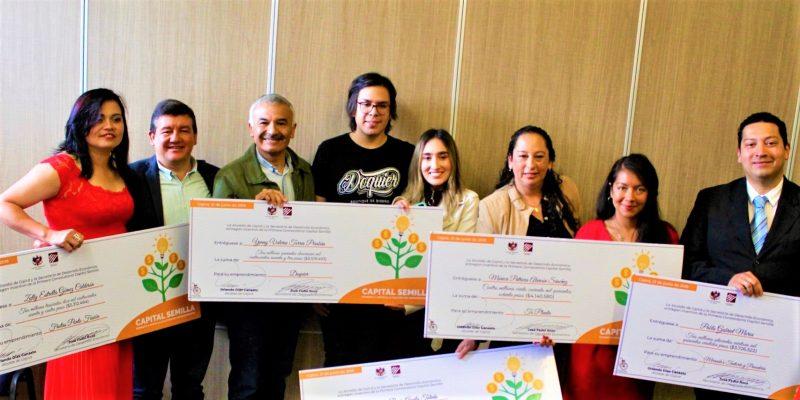 Alcaldia de Cajica entrego capital semilla a emprendedores