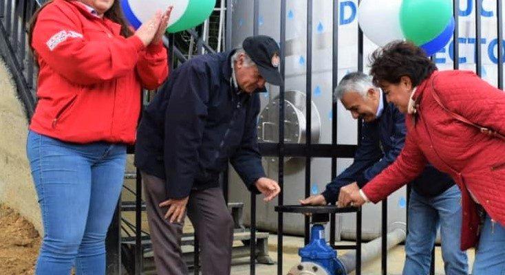 Alcaldia de Cajica entrego nuevo tanque de agua potable para el sector La Cumbre2