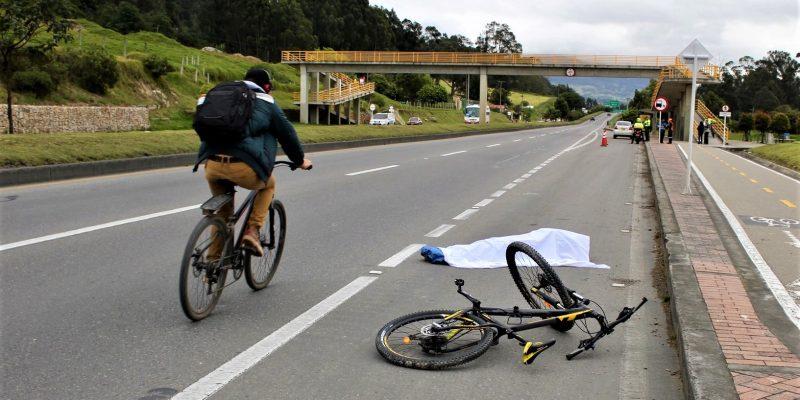 Nueva jornada de sensibilizacion a ciclistas realizo la Alcaldia de Cajica