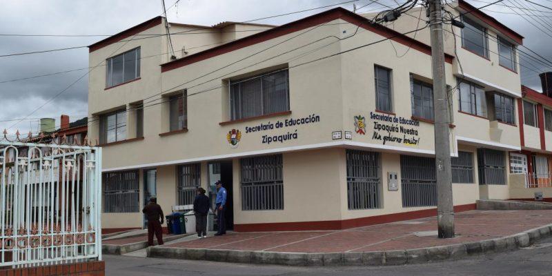 secretaria de edUCACION ZIPAQUIRA