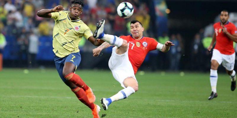 colombia vs chile paquete 4 7 3 0