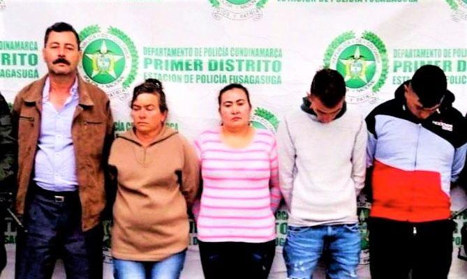 Asegurados presuntos integrantes de la banda Los Pachines