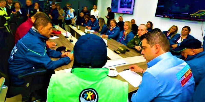 El gobernador Garcia Bustos instalo PMU y Sala de Crisis para seguimiento del Coronavirus