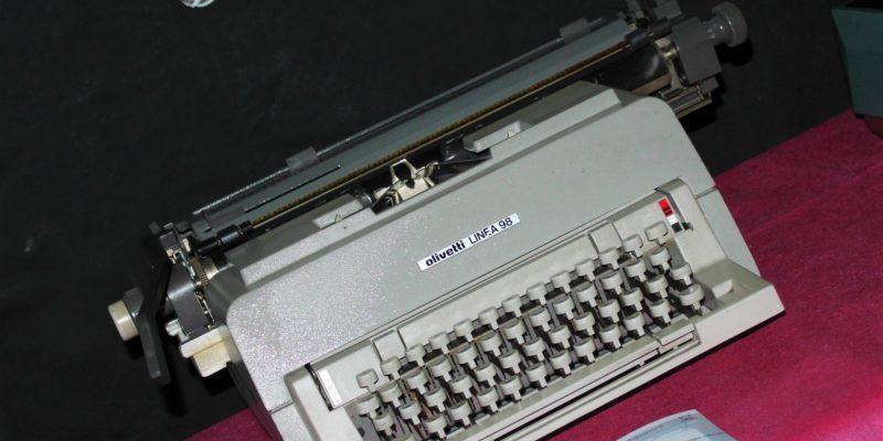 La Maquina de escribir de la Casa Museo Quevedo Zornoza
