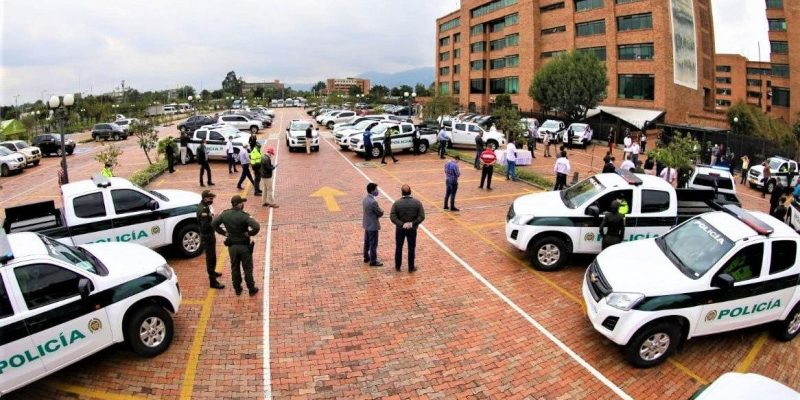 21 patrullas nuevas reforzaran trabajo de la Policia en Cundinamarca