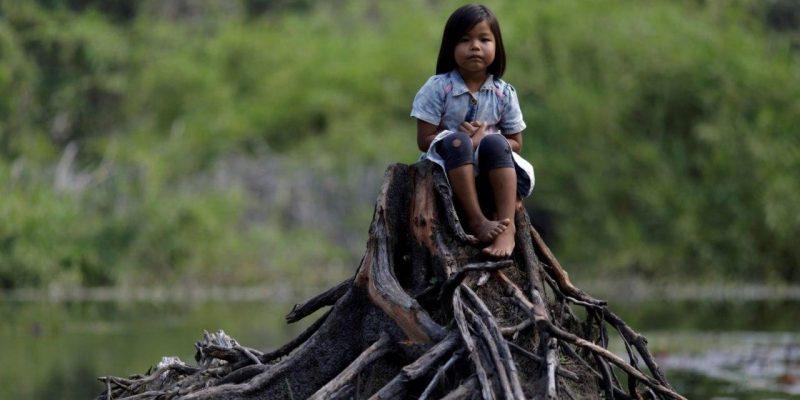 Para defender el Amazonas Cineastas indigenas filman una superproduccion