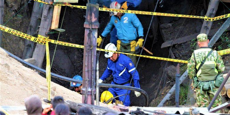 Se presento una explosion al interior de una mina de carbon en Cucunuba