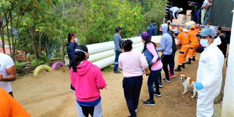 El Resguardo Indigena Mhuysqa de Chia recibio donaciones debido a la pandemia1