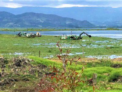 Acciones ambiciosas para la recuperacion de la Laguna de Fuquene