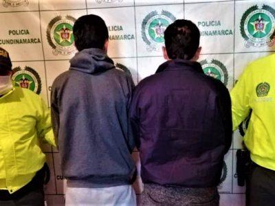 Capturados dos individuos por el delito de homicidio agravado en Suesca copy